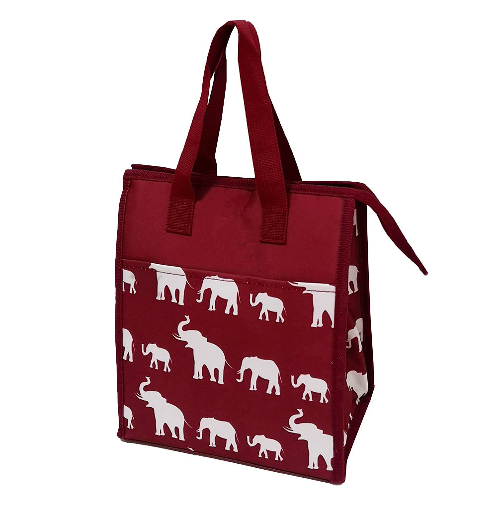 Custom Full Printing Reusable Cooler Bag Insulated Thermal Lunch Tote Bag