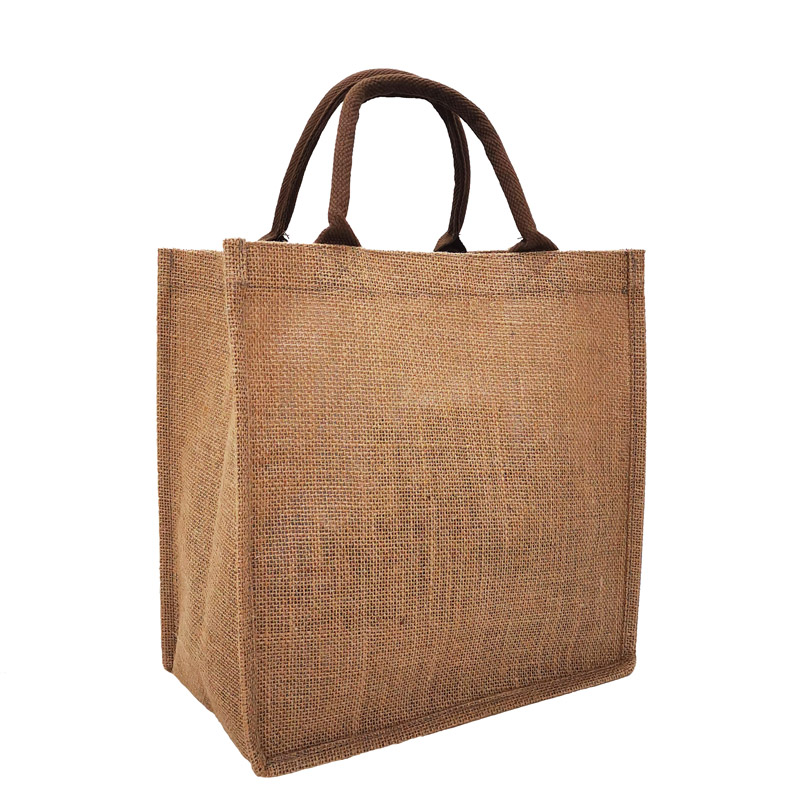 Resuable Jute Grocery Shopping Tote