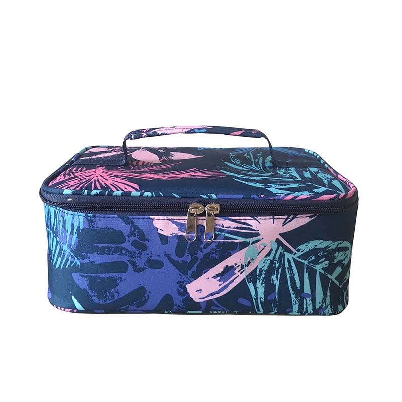 Full printing insulated lunch box bag cooler bag
