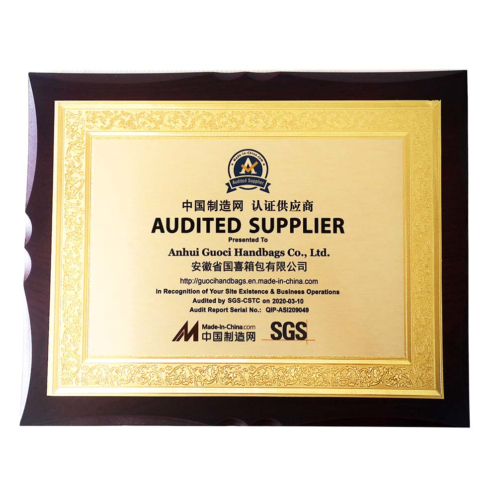 Audited by SGS
