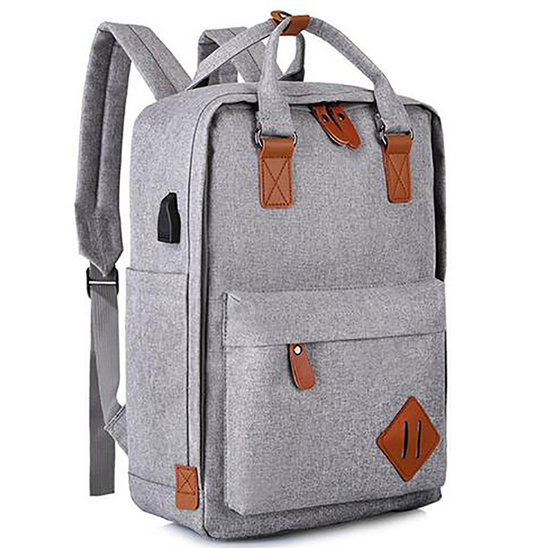 Multifunction computer laptop backpack with usb port