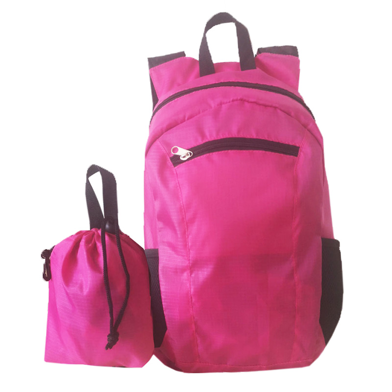 Light foldable travel backpack