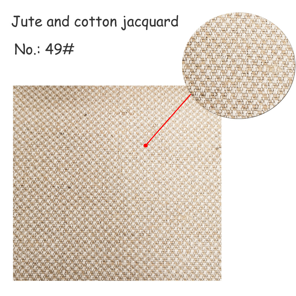 Jute and cotton