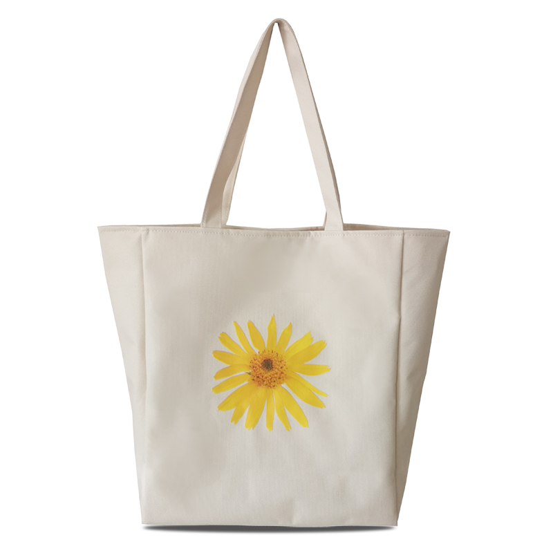 polyester women tote beach bag
