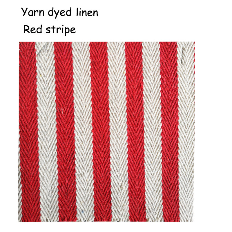 striped yarn dyed linen