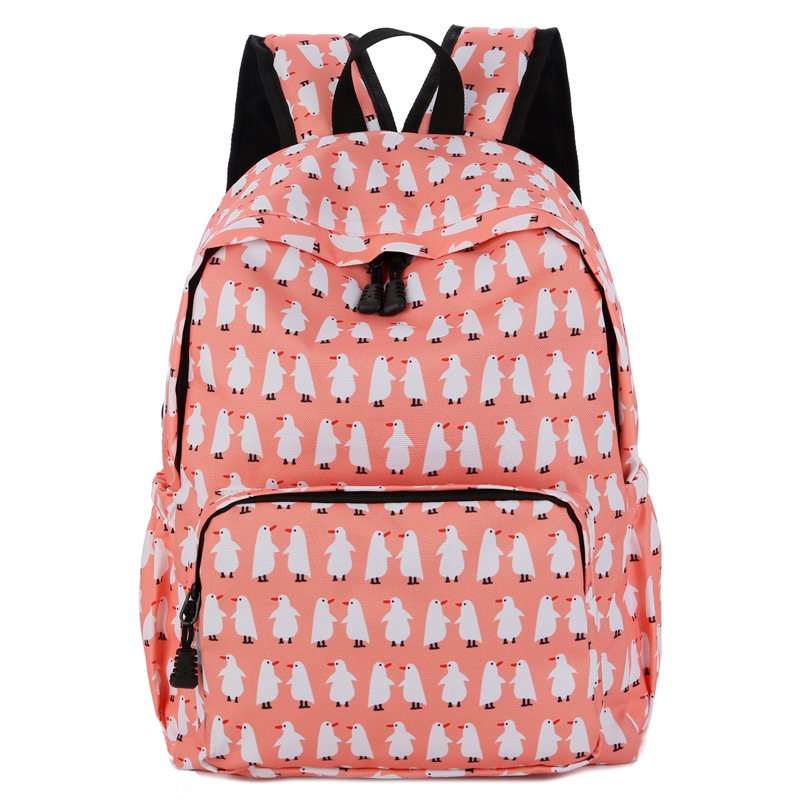 Teens Bookbag Student Backpacks Travel Daypack Shoulder Bags