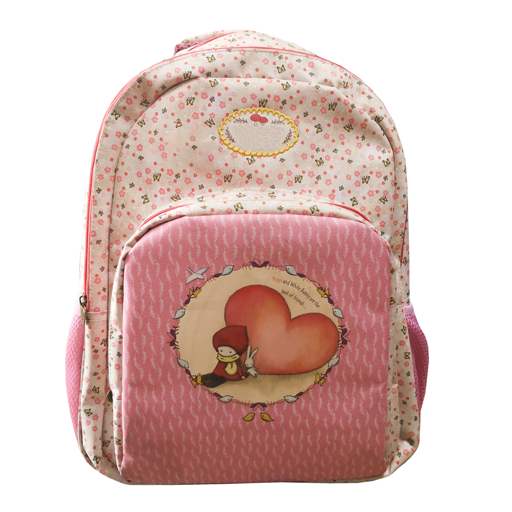 multifunction girls school backpack with many compartments
