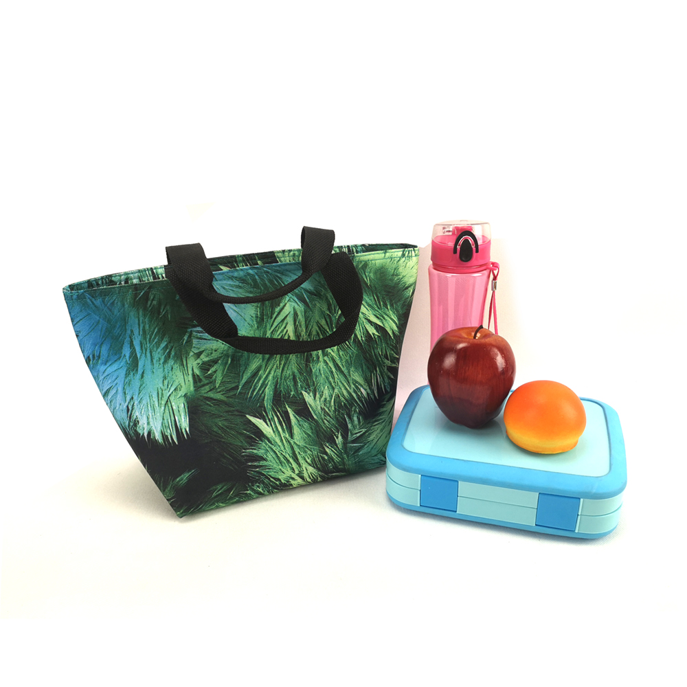 Full printing insulated lunch bag